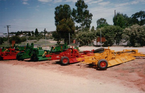 LOXTON Models 5 and 6 awaiting Road Transport and Delivery